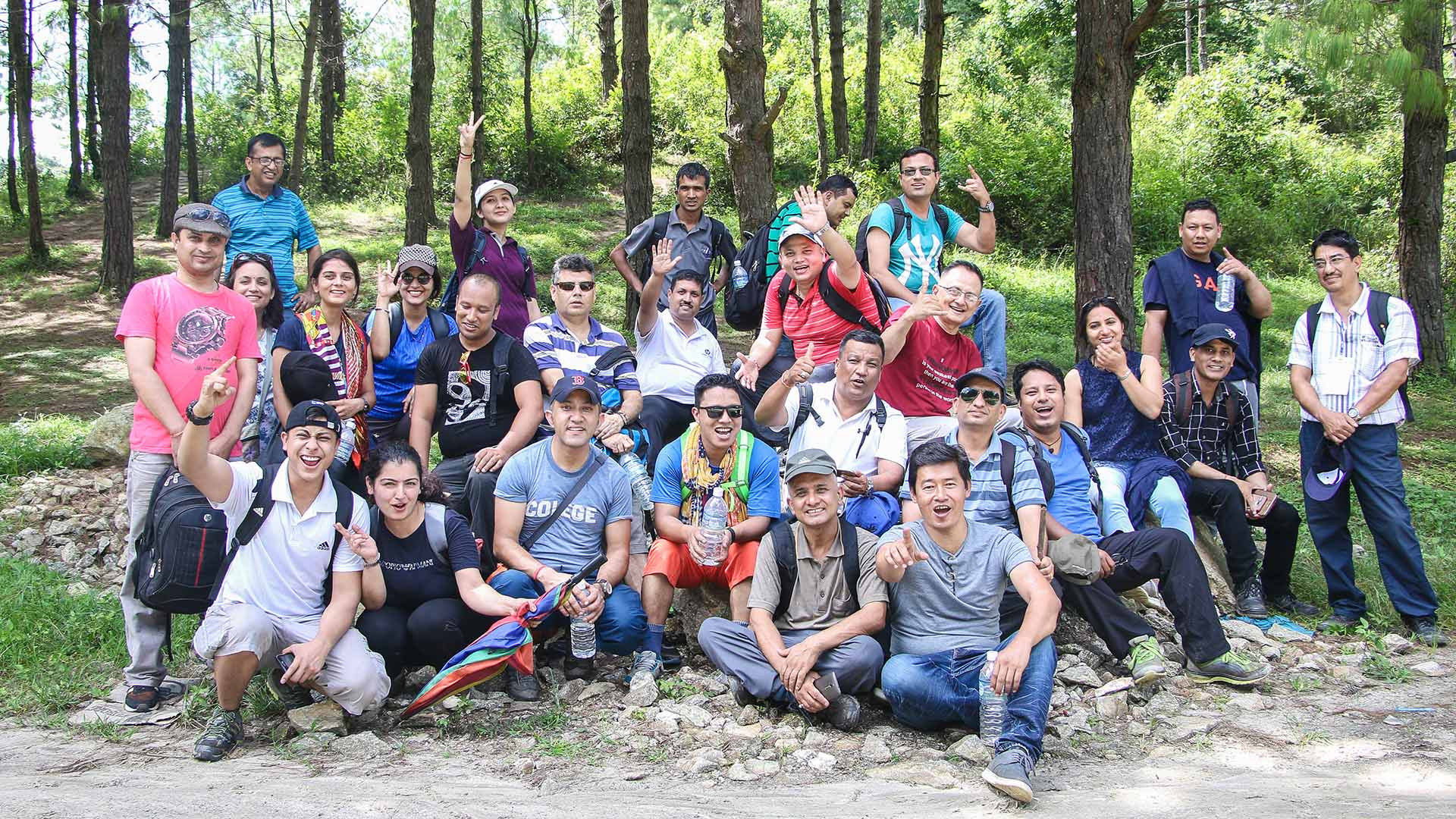 IT4D Hiking Group Photo