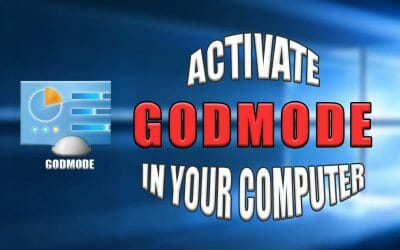 How to activate God Mode in your computer?