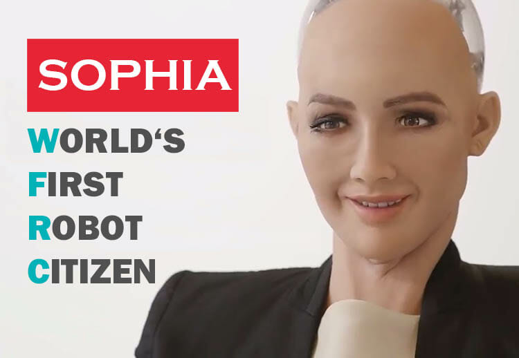 SOPHIA – THE WORLD'S FIRST ROBOT CITIZEN