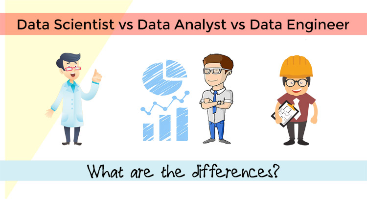Data Scientist vs Data Analyst vs Data Engineer – What are the difference?